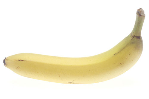 Whole Unpeeled Yellow Banana