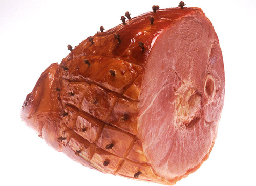 Baked Ham With Clovess