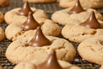 Peanut Butter Chocolate Blossoms