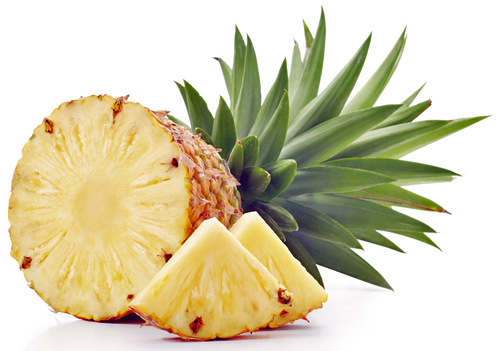 Pineapple Half and Wedge