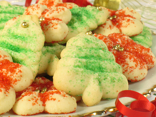 Spritz Christmas Cookies