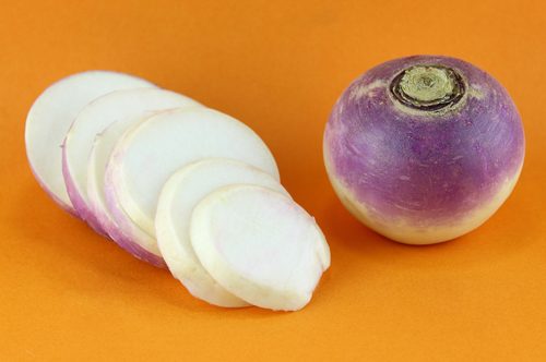 Turnip Whole and Sliced